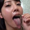 【舌フェチベロフェチ】みづなれいのエロ長い舌