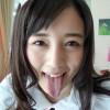 【舌フェチ】鈴原エミリの長い舌