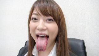 【舌フェチ】星野あかりの長い舌